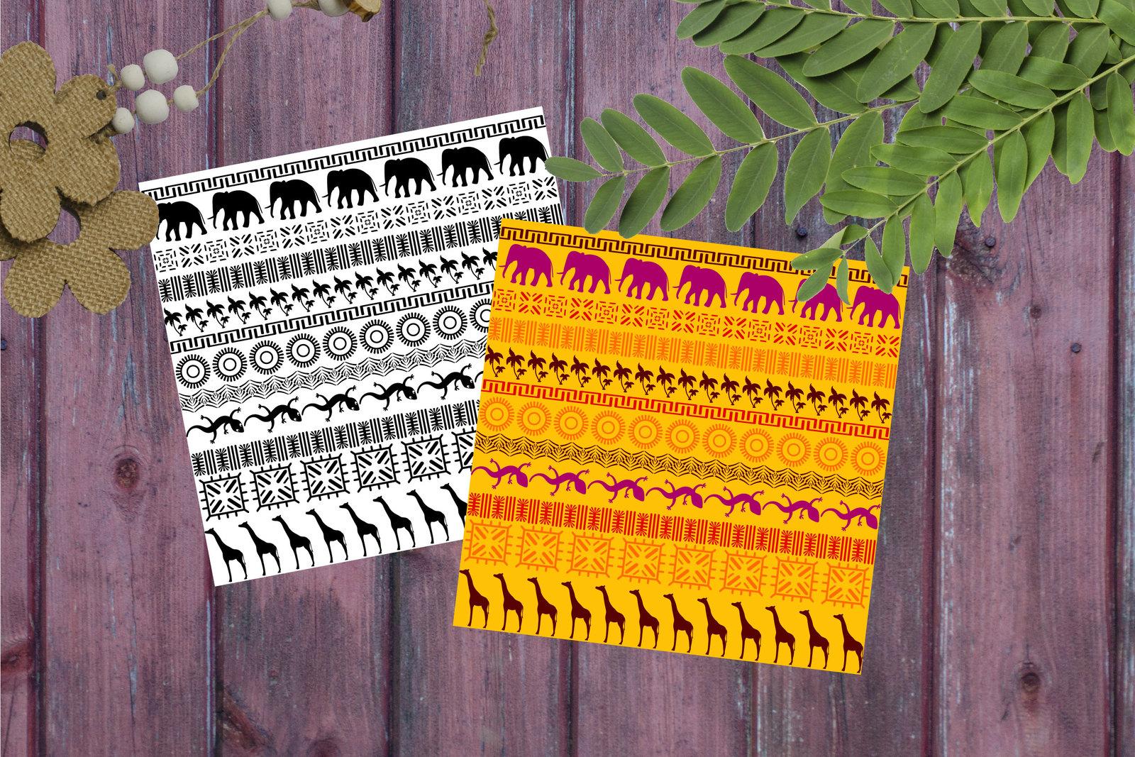 Pattern Brushes for Illustrator
