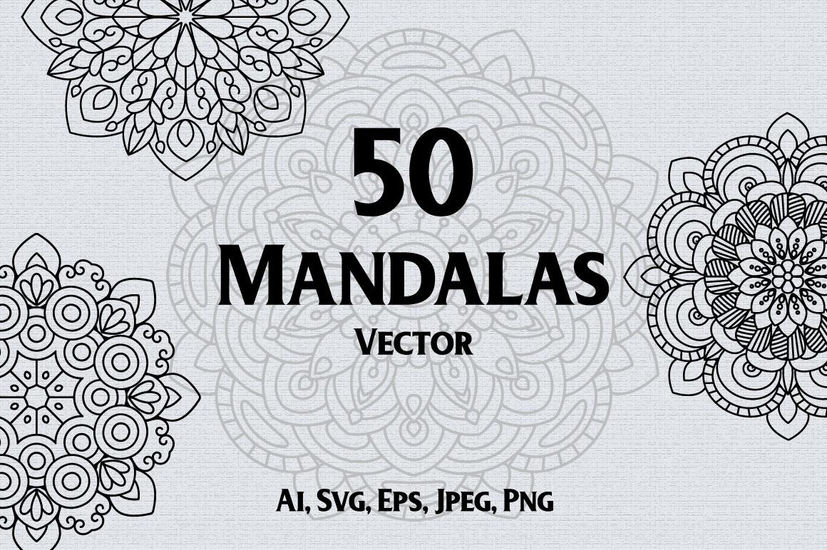 50 Mandalas