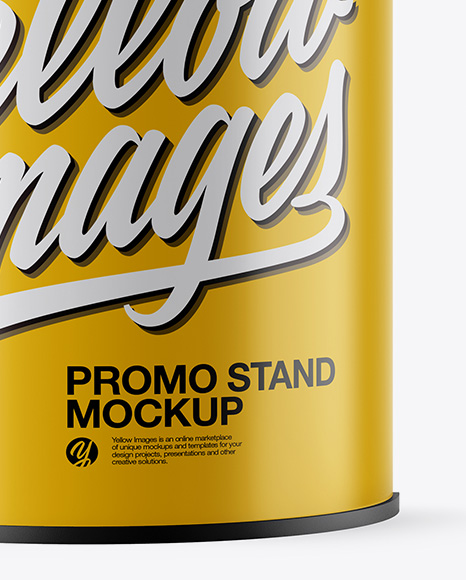 Promo Stand Mockup - Front View