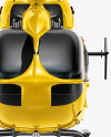 Helicopter Mockup - Front view