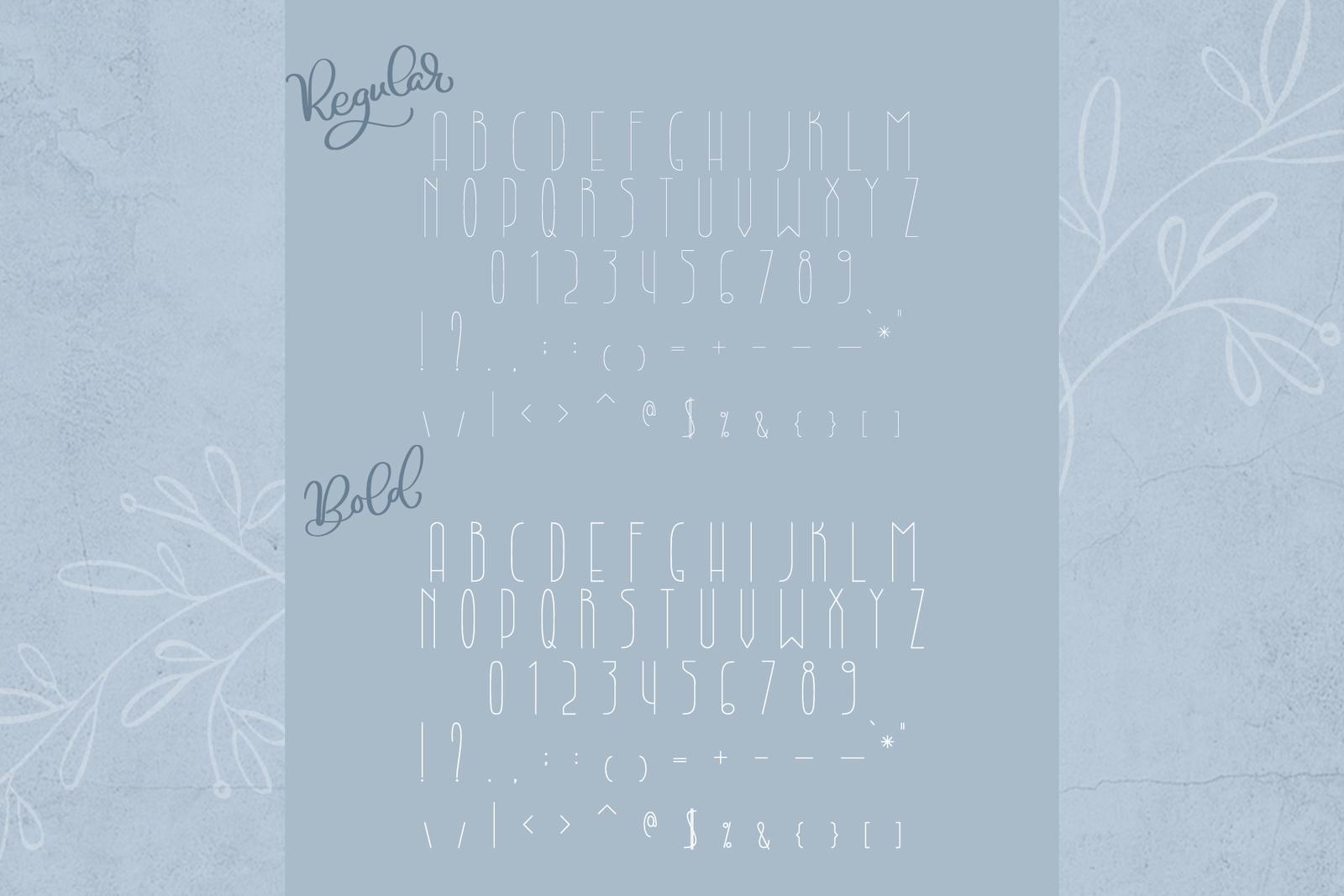 Lightbon Modern Font