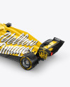 Formula-1 2018 Mockup - Halfside Back view