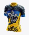 Women's Cycling Jersey Mockup - Halfside View