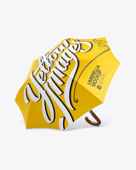 Matte Umbrella Mockup