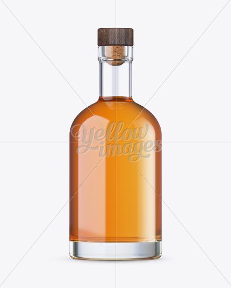 Oslo Whiskey Bottle Mockup