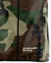 Windbreaker Mockup - Front View