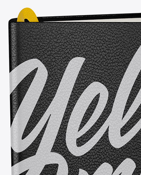 Notebook Mockup - Front View