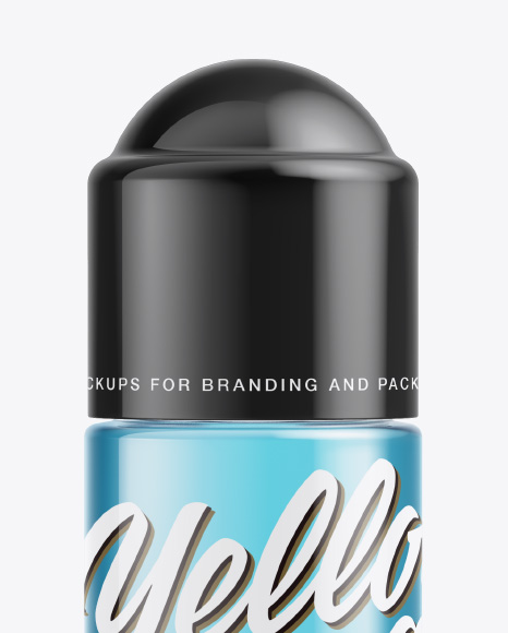 Roll-On Deodorant Mockup - Front View