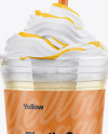 Banana Smoothie Cup Mockup