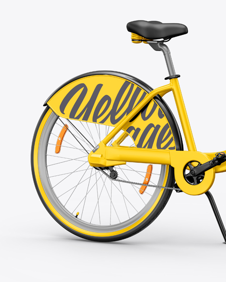 Bicycle Mockup