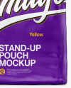 Stand Up Glossy Pouch - Front View