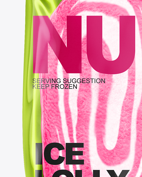Ice Lolly Mockup