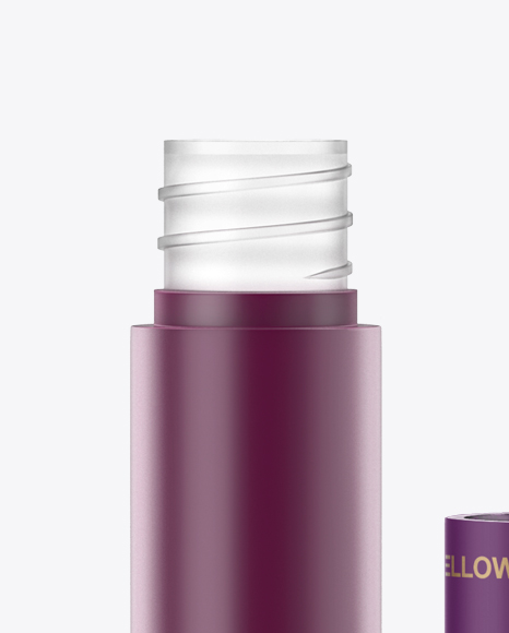 Download Matte Lip Gloss Bottle Box Mockup PSD - Free PSD Mockup Templates