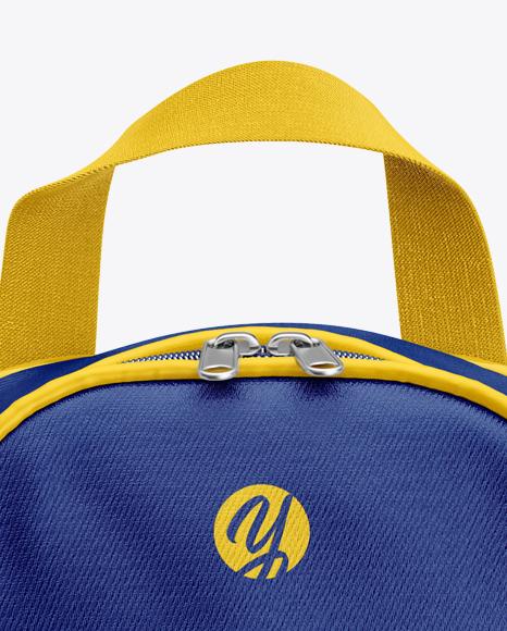 Boot Bag Mockup - Front View