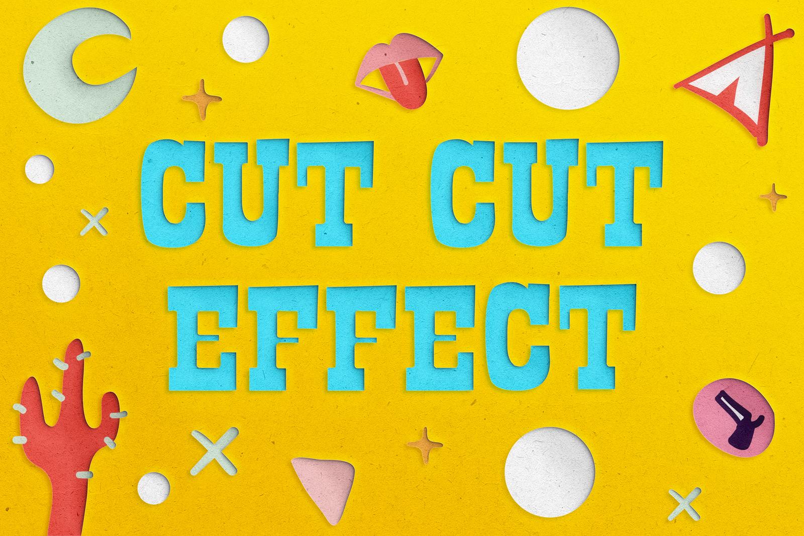Cut Cut Effect