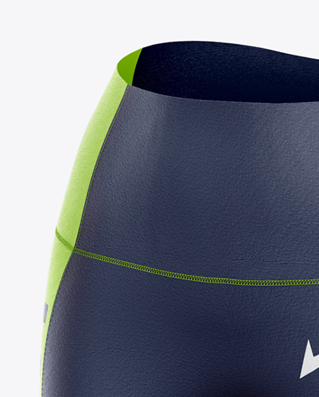 Fitness Kit Mockup - Front Half Side View