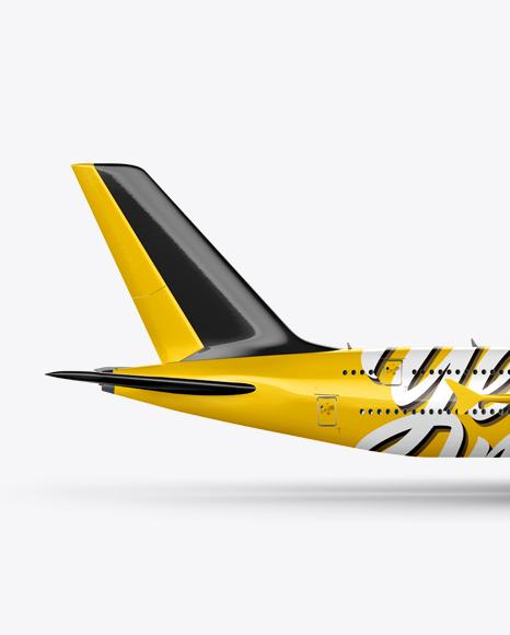 Aircraft Mockup - Side view