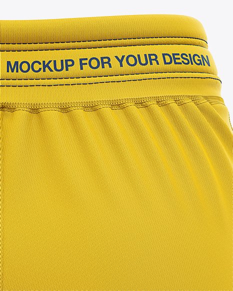 Download Mens Cycling Shorts V3 Mockup Back Left Half Side View Yellowimages