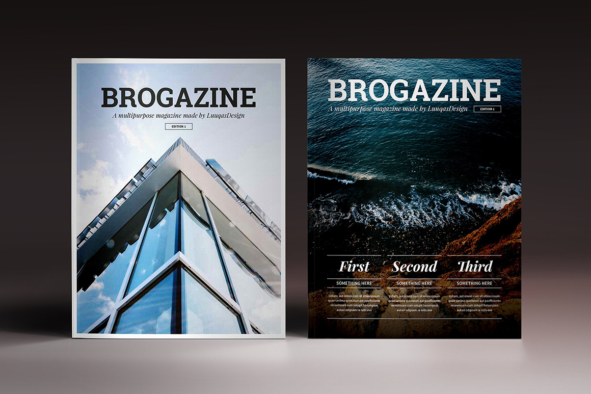 Brogazine Indesign Template