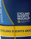 Men's Cycling Shorts Mockup - Back View