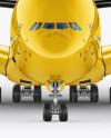 Aircraft Mockup - Front view