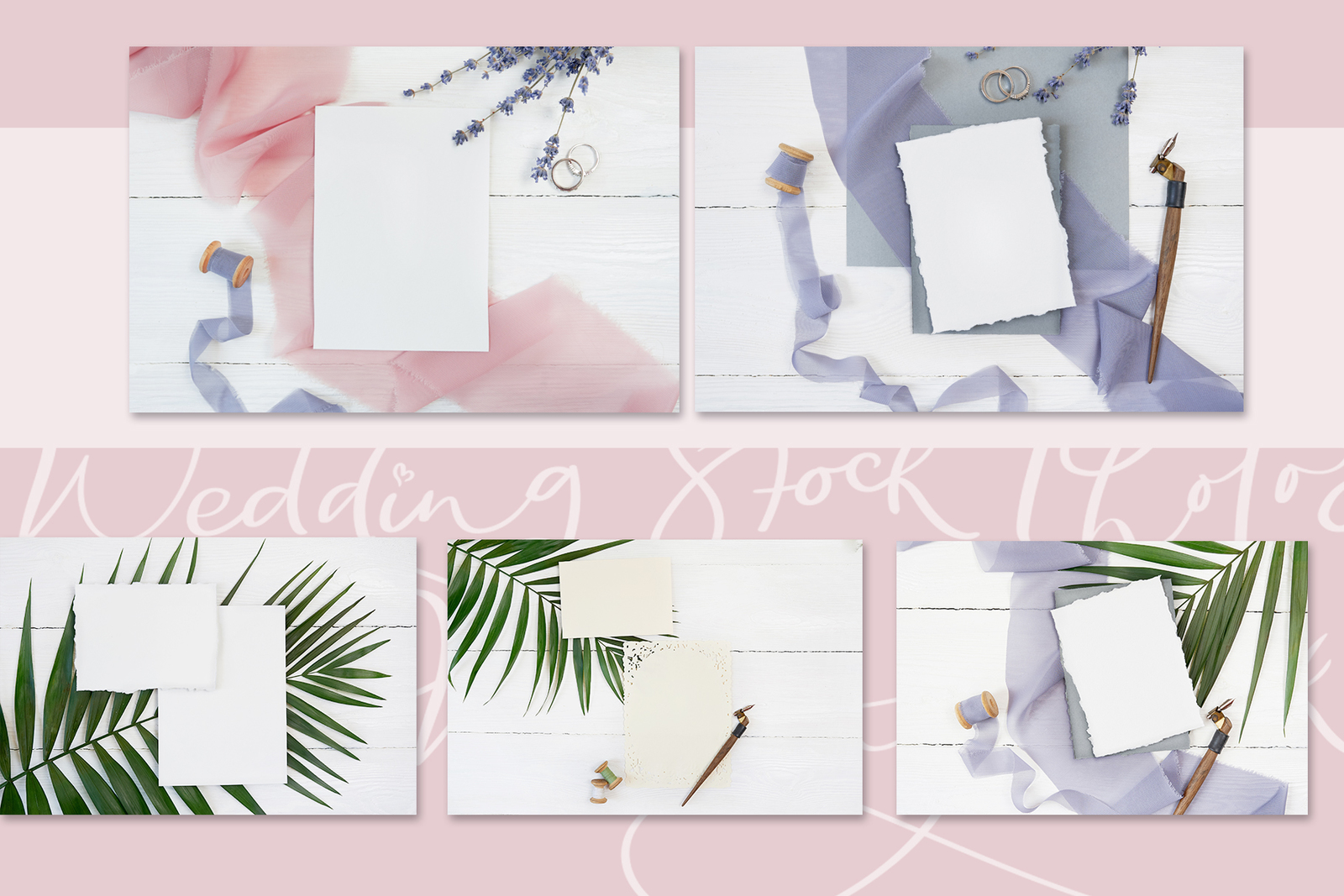 Wedding stock photo bundle