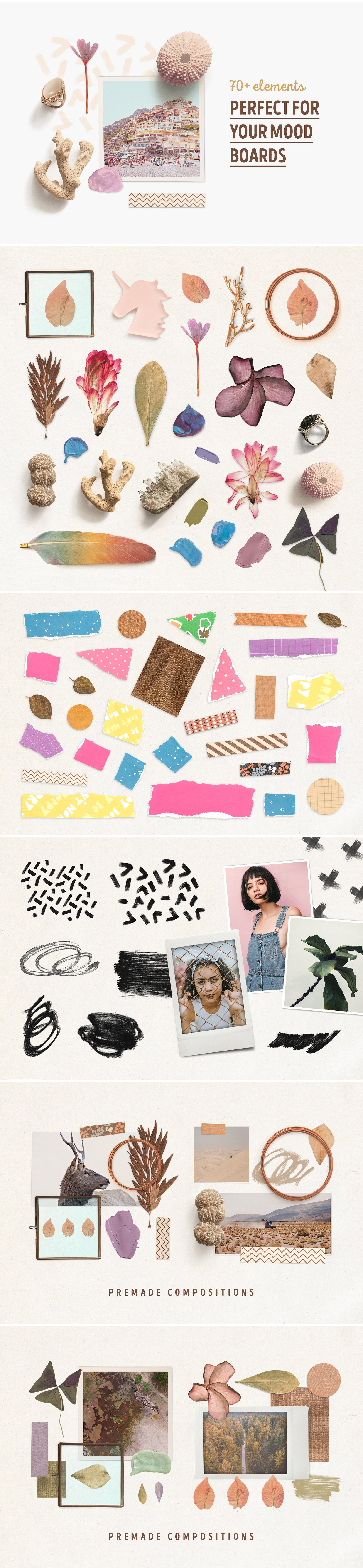 Download Martinika Mood Boards Collection In Scene Generators On Yellow Images Creative Store