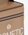 Cosmetic Bag Mockup - Half Side View