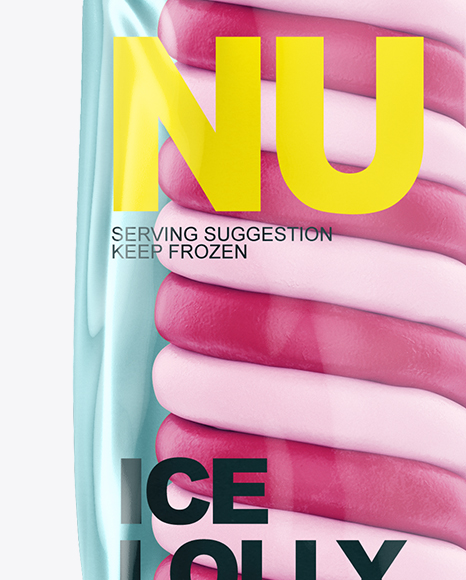Twisted Ice Lolly Mockup