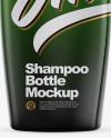 Shampoo Glossy Bottle Mockup