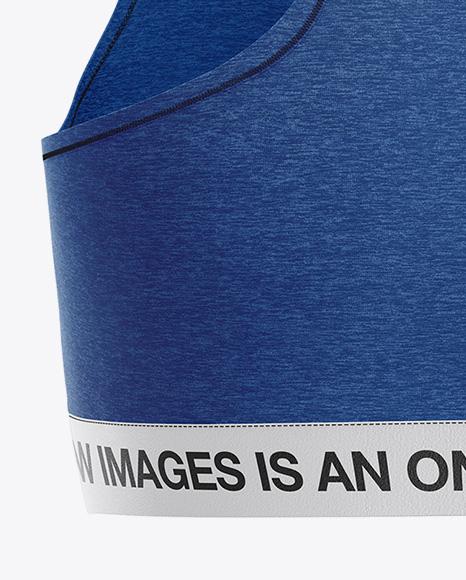 Melange Women`s Underwear Kit Mockup - Back View