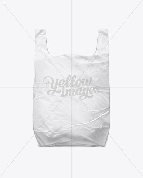 White Plastic Carrier Bag