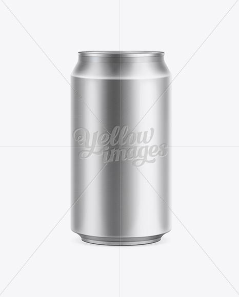 Aluminum Can 330ml Mock-Up