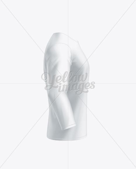 Men's Long Sleeve T-Shirt Side View