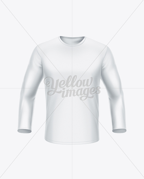 Download Women S Long Sleeve T Shirt Side View In Apparel Mockups On Yellow Images Object Mockups PSD Mockup Templates