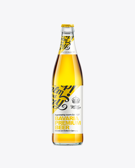 NRW Bottle With Gold Beer 500ml