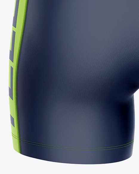Women`s Volleyball Shorts Mockup - Back View