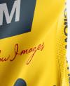 Women's Cycling Jersey Mockup - Back View