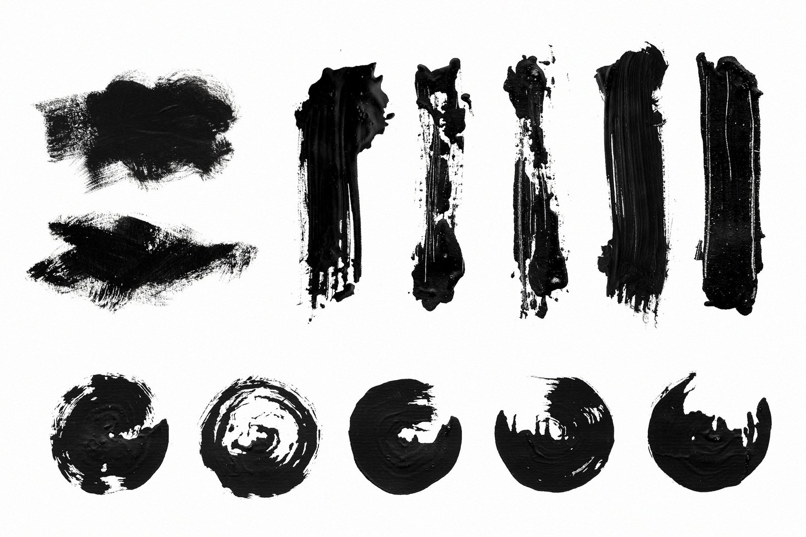 Calligraphy Strokes Set