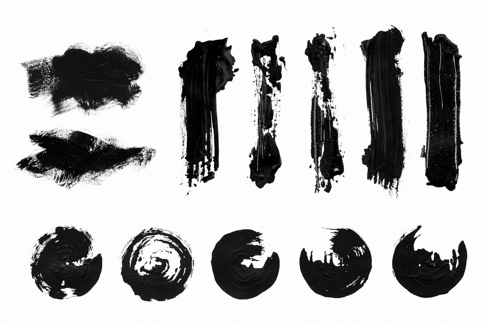 Calligraphy Strokes Set