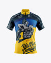 Men's Cycling Jersey Mockup - Front View