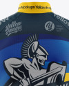 Men's Cycling Jersey Mockup - Back View