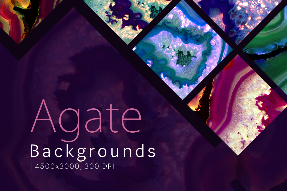 40 Agate Backgrounds