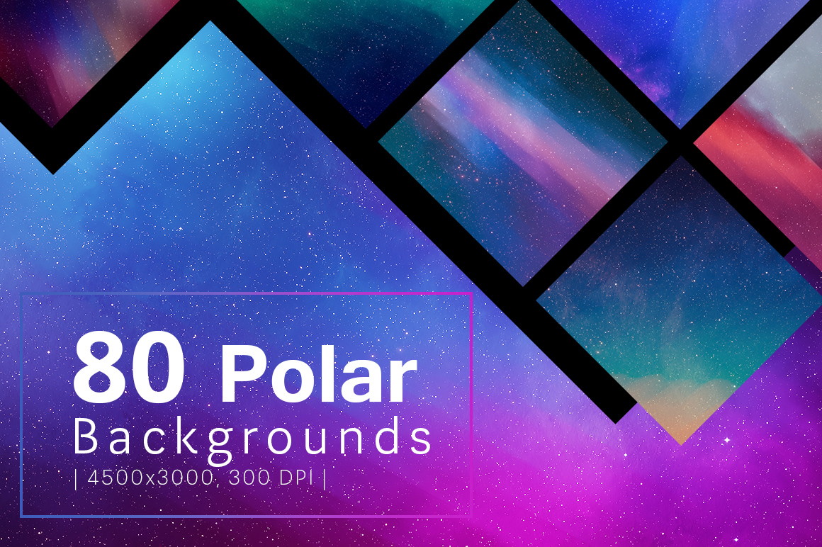 80 Polar Backgrounds