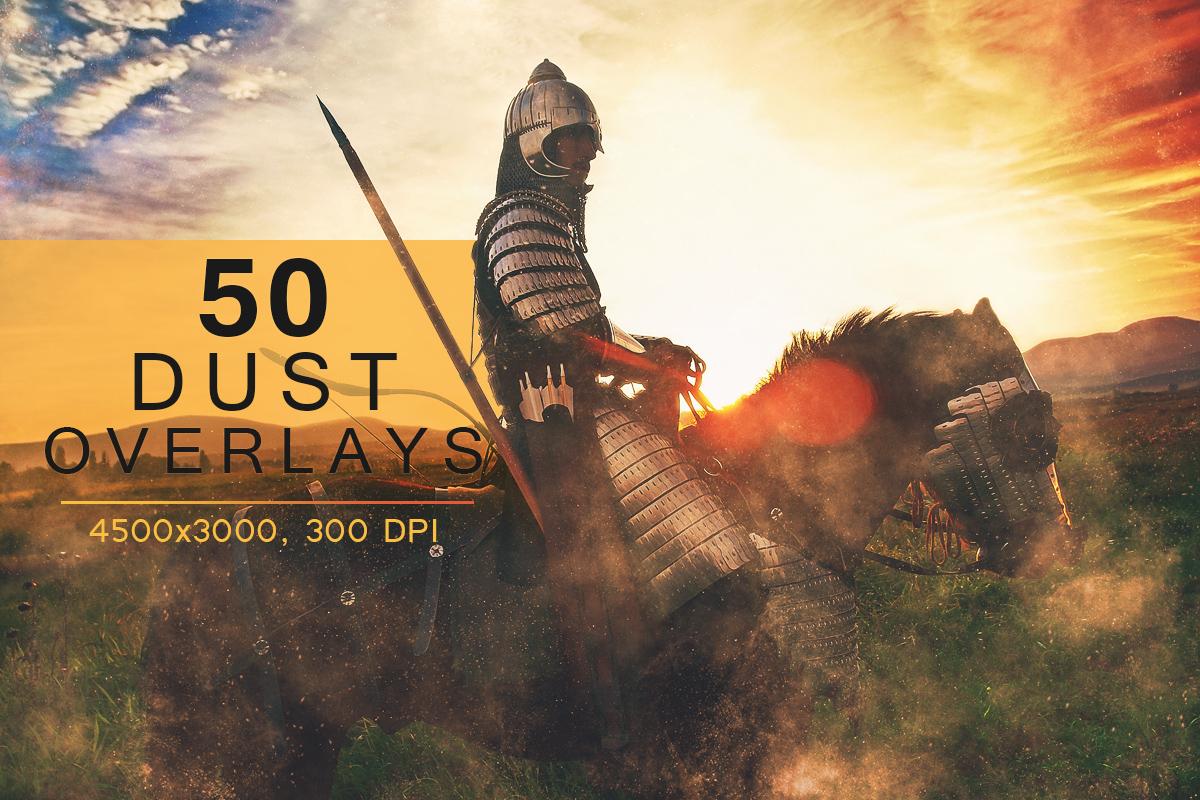 50 Dust Overlays