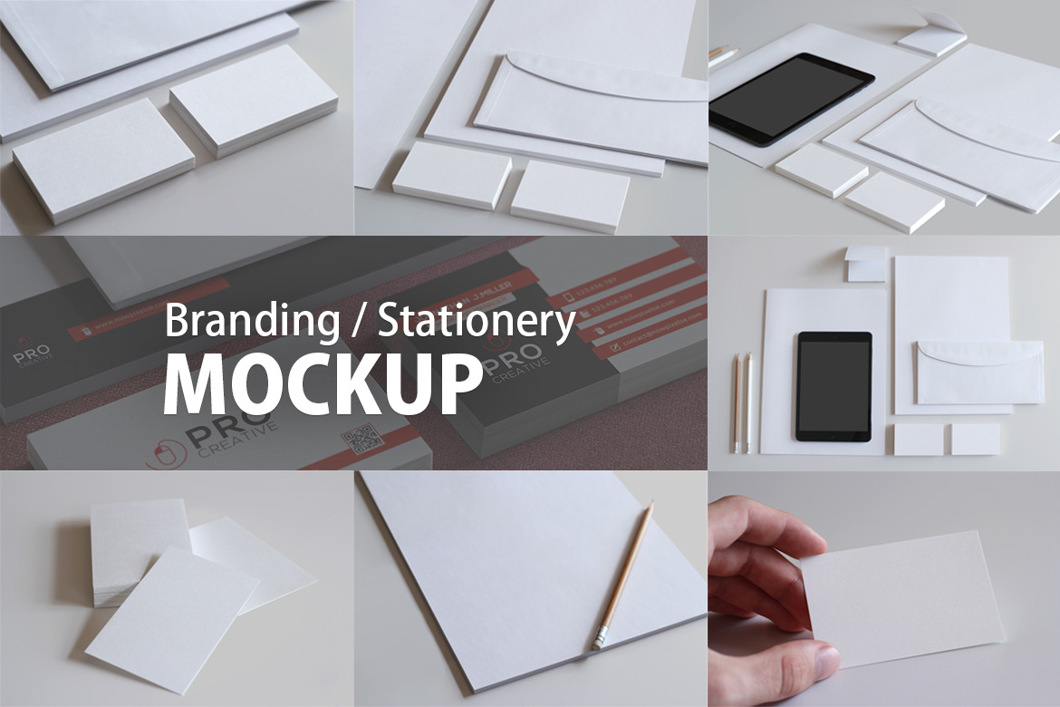 Branding Stationery Mockup In Stationery Mockups On Yellow