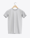 Hanging T-Shirt Mockup - Front View