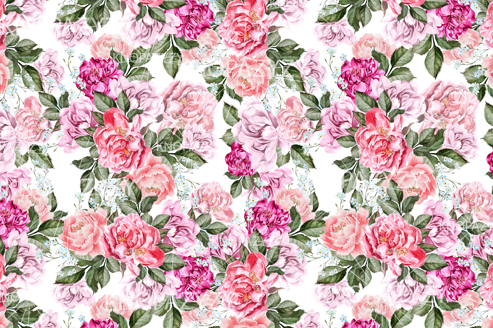 16 Watercolor pattern