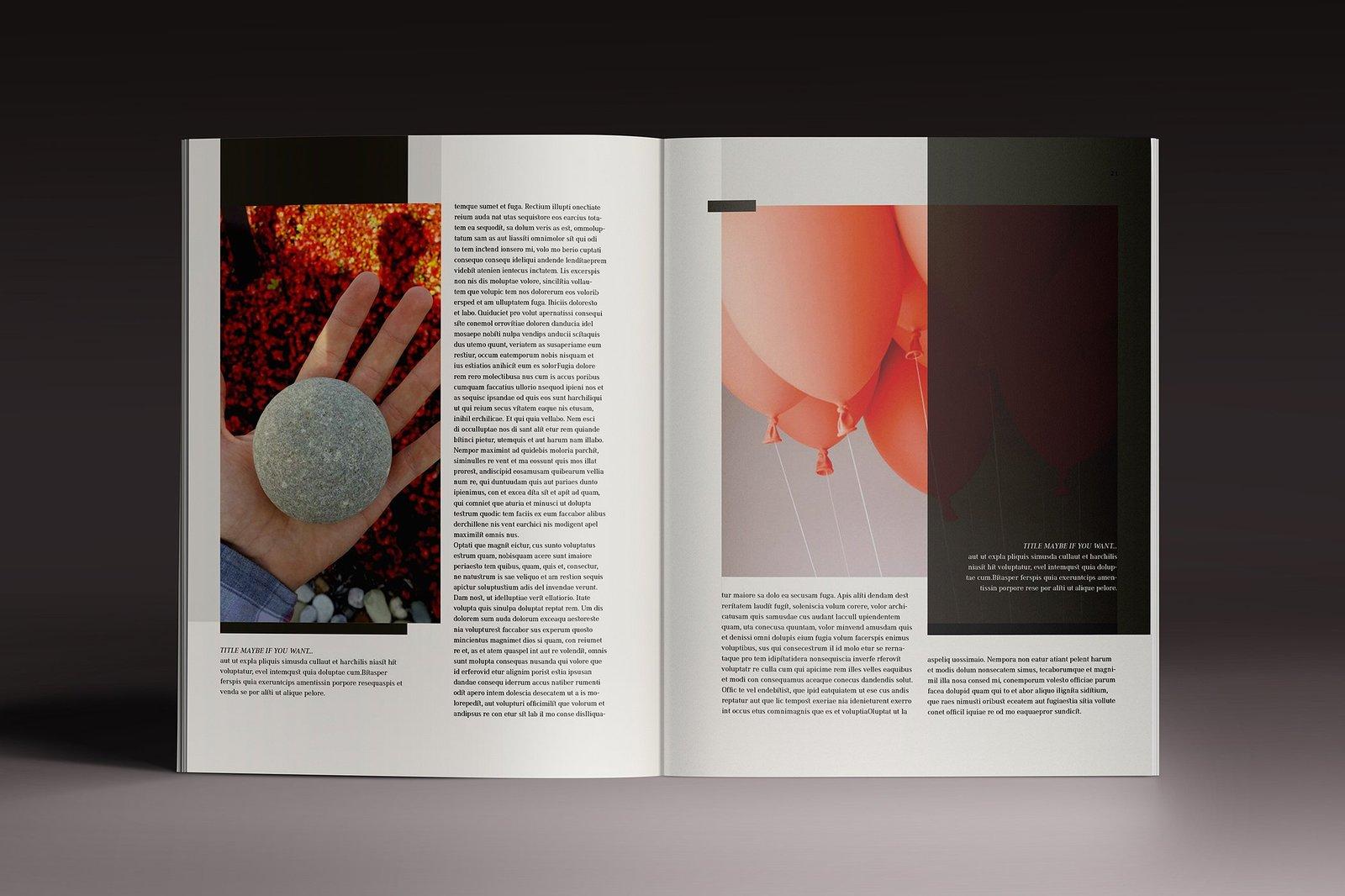 Multipurpose Magazine 7 Indesign Template