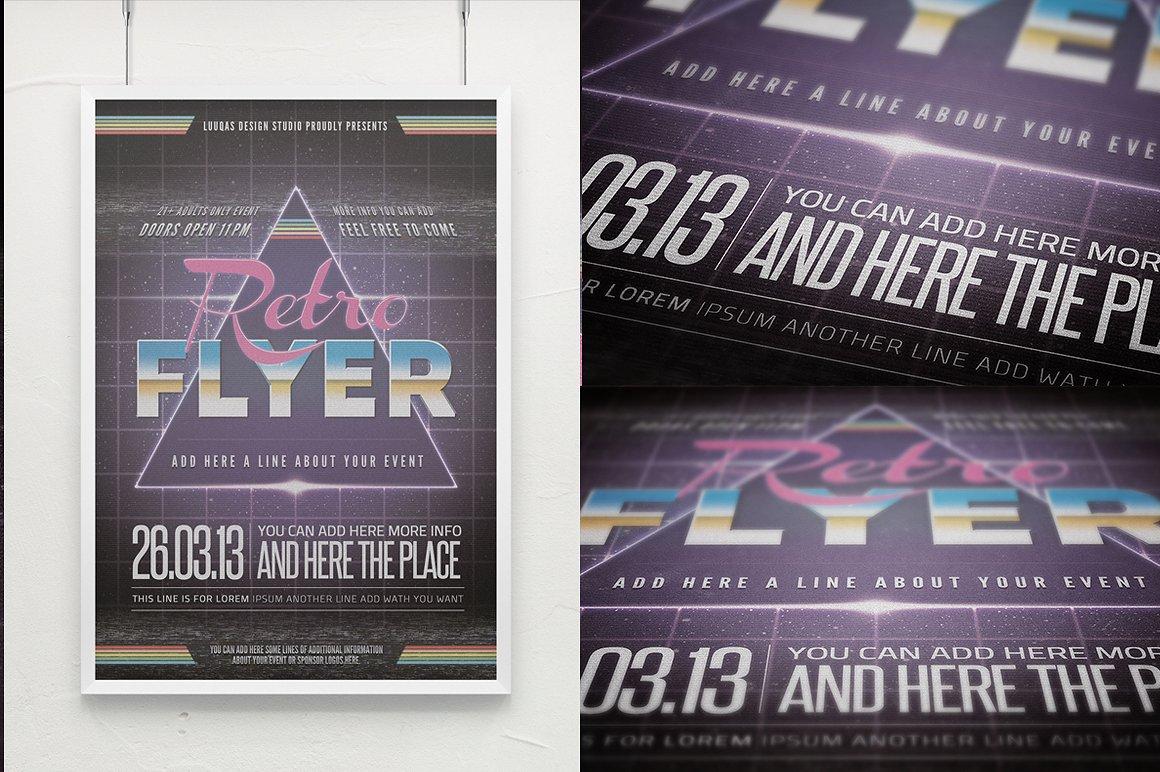 Retro Flyer Poster